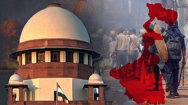 केंद्र सरकार को पश्चिम बंगाल में राष्ट्रपति शासन लागू करने के निर्देश देने के संबंध मे सुप्रीम कोर्ट में याचिका दायर