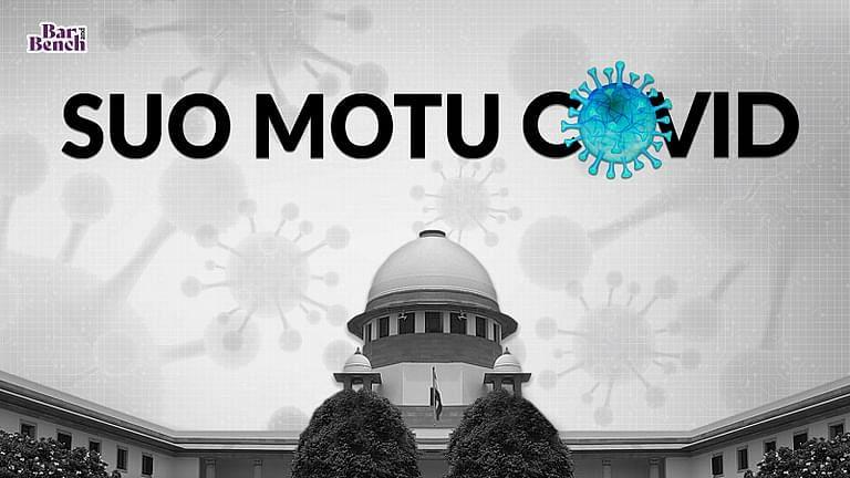 """""""हमारी सुनवाई में फर्क होना चाहिए"""": सुप्रीम कोर्ट ने सू मोटू COVID-19 मुकदमा मामले के दौरान दस सवाल किए"""