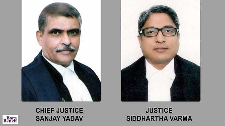 C. Justice Sanjay Yadav, Justice Siddhartha Varma