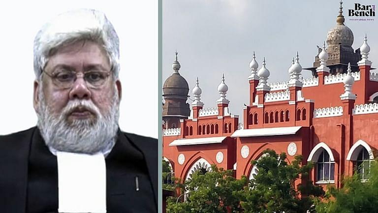 """मद्रास हाईकोर्ट के मुख्य न्यायाधीश संजीव बनर्जी ने कहा """"एक रविवार हम सब मिलकर हाईकोर्ट परिसर की सफाई करेंगे, मैं भी आऊंगा"""""""