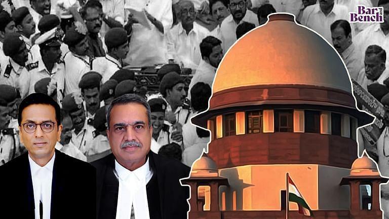 [ब्रेकिंग] SC ने 2015 विधानसभा में तोड़फोड़ के लिए वाम विधायकों के खिलाफ मामले वापस लेने की केरल सरकार की याचिका खारिज की