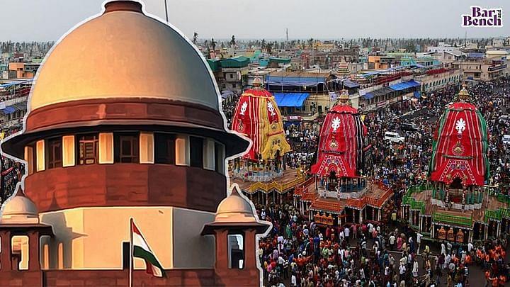 आशा है भगवान अगले साल रथयात्रा की अनुमति देंगे: SC ने यात्रा को पुरी तक सीमित के ओडिशा के आदेश के खिलाफ याचिकाओ को खारिज किया