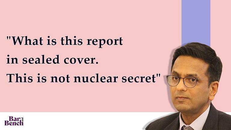 """[कोविड अस्पतालो मे अग्नि सुरक्षा] """"सीलबंद लिफाफे मे यह रिपोर्ट क्या है? यह परमाणु रहस्य नही:"""" SC ने गुजरात सरकार की खिंचाई की"""