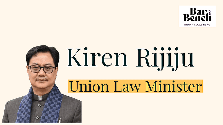 [ब्रेकिंग] किरेन रिजिजू नए केंद्रीय कानून मंत्री नियुक्त किए गए