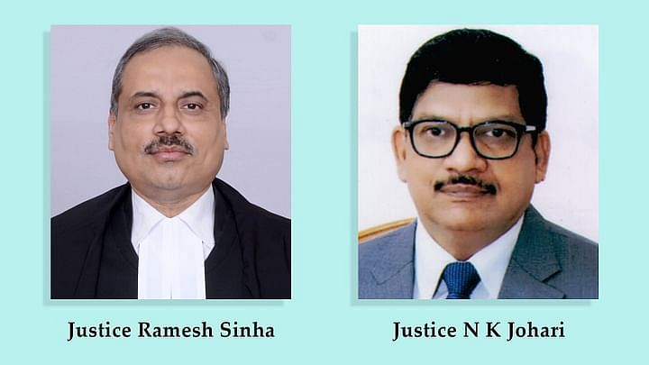 JUSTICE RAMESH SINHA and JUSTICE NARENDRA KUMAR JOHARI