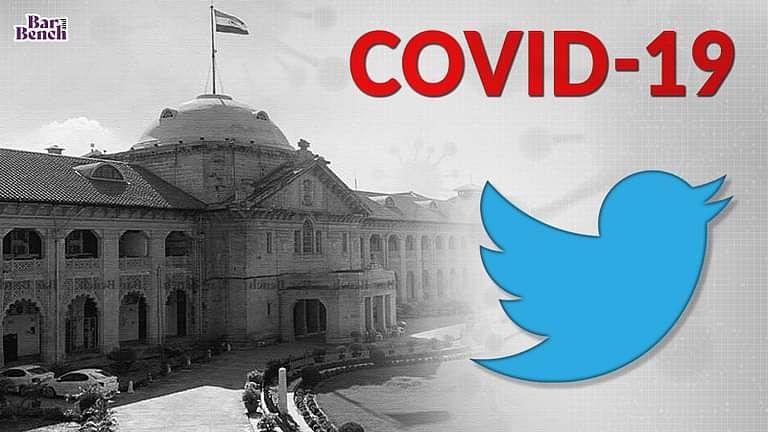 सोसाइटी निवासी द्वारा कोविड मानदंडो के उल्लंघन के बारे मे सतर्क ट्वीट CRPC की धारा 144 के तहत उल्लंघन नही हो सकता:इलाहाबाद HC