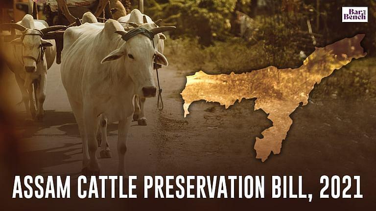 मंदिरो के पास गोमांस की बिक्री नही: असम मवेशी संरक्षण विधेयक,2021 राज्य विधानसभा मे CM हिमंत बिस्वा सरमा द्वारा पेश किया गया