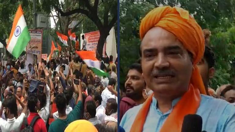 """""""मेरी रैली खत्म होने के बाद लगे मुस्लिम विरोधी नारे""""SC वकील अश्विनी उपाध्याय ने दिल्ली मे नारे लगाने की जानकारी से किया इनकार"""