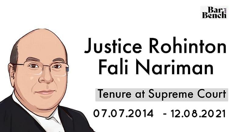 """""""हम भारतीय न्यायपालिका के शेरो मे से एक को खो रहे है"""": CJI रमना,बार ने जज रोहिंटन नरीमन को उनकी सेवानिवृत्ति पर सम्मानित किया"""