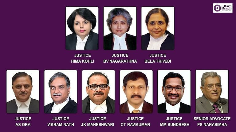 8 Judges and 1 Senior Advocate recommended to Supreme Court