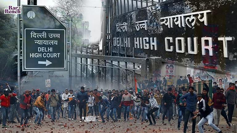[ब्रेकिंग] दिल्ली दंगों के मामले में दिल्ली उच्च न्यायालय ने 5 आरोपियों को जमानत दी