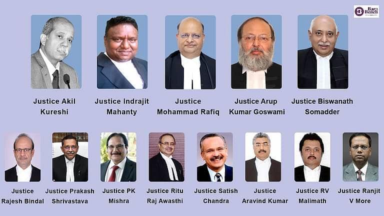सुप्रीम कोर्ट कॉलेजियम ने 8 उच्च न्यायालयों के लिए नए मुख्य न्यायाधीशों, 5 अन्य के स्थानांतरण की अनुशंसा की