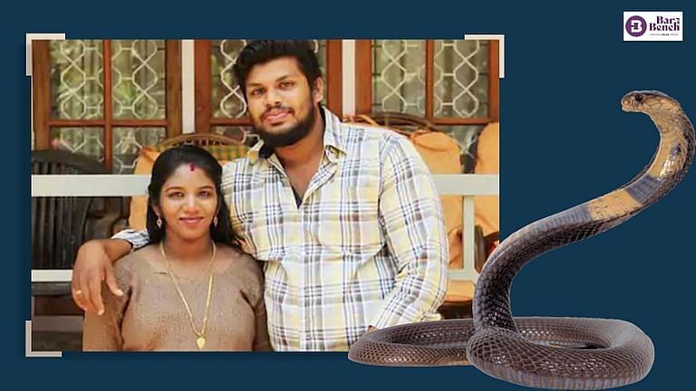 [ब्रेकिंग] सर्पदंश से उथरा मर्डर: केरल की अदालत ने पति सूरज को उम्रकैद की सजा सुनाते हुए ₹5 लाख का जुर्माना लगाया
