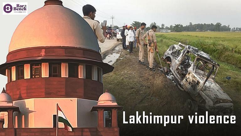 """लखीमपुर खीरी उत्तर प्रदेश हत्याकांड: """"केवल शब्दों में यूपी सरकार की कार्रवाई:"""" सुप्रीम कोर्ट जांच से नाखुश"""