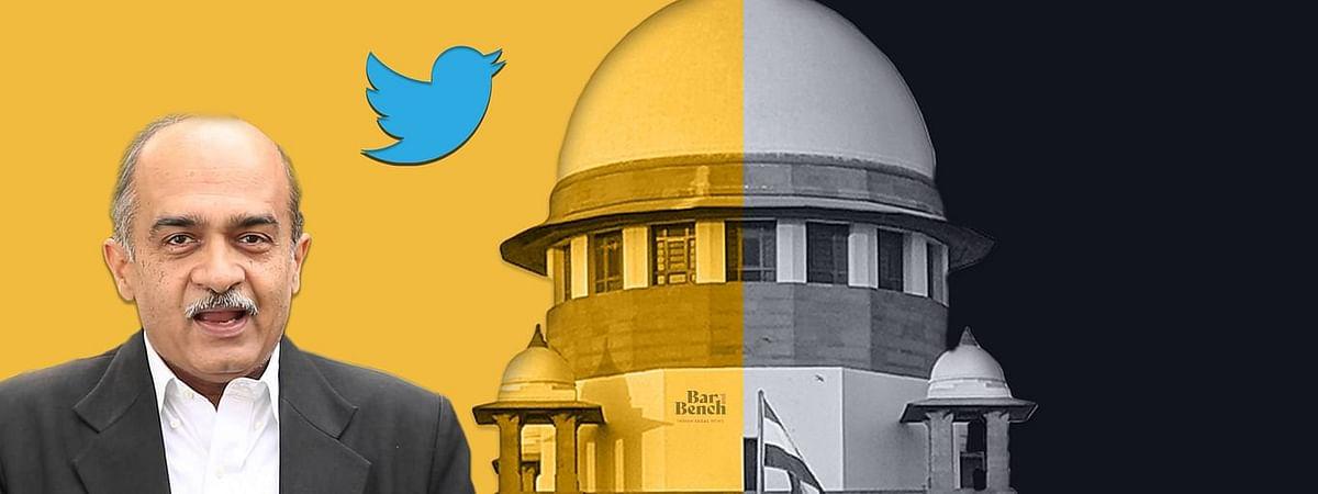 Prashant Bhushan, Supreme Court, Twitter