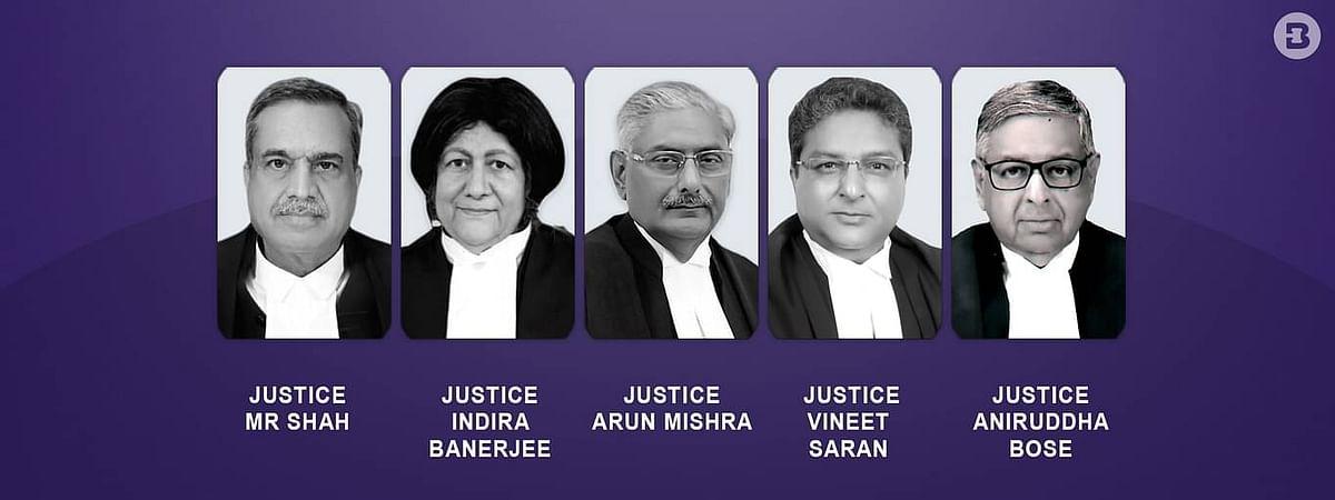 Vineet Saran Indira Banerjee Arun Mishra MR Shah Aniruddha Bose