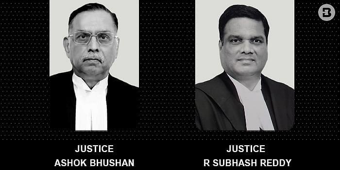 Justices Ashok Bhushan, R Subhash Reddy