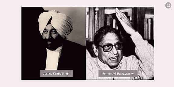 ನ್ಯಾ. ಕುಲದೀಪ್ ಸಿಂಗ್  ಮತ್ತು  ಜಿ. ರಾಮಸ್ವಾಮಿ