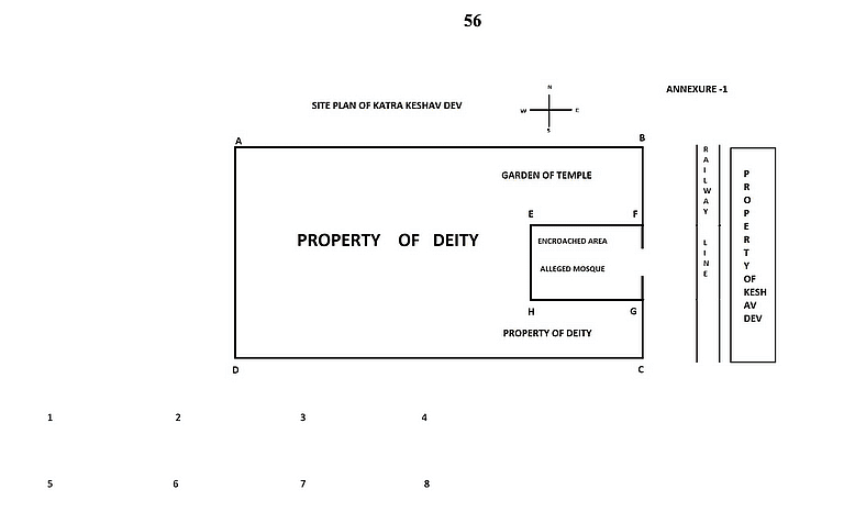 Map in the suit as Annexure 1
