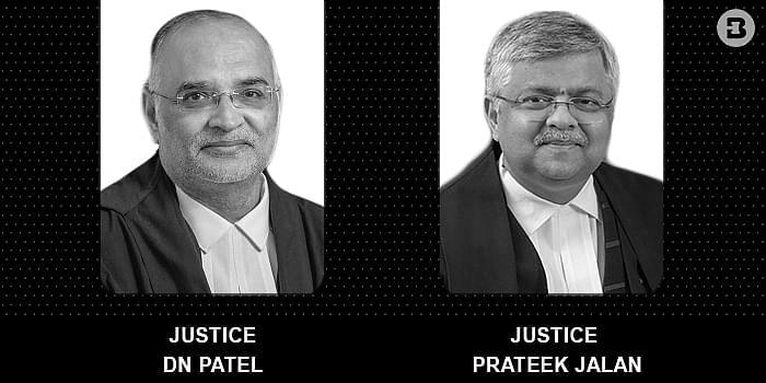 Chief Justice DN Patel and Prateek Jalan