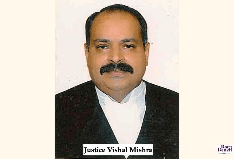 Justice Vishal Mishra, High Court of Madhya Pradesh