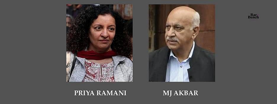 Priya Ramani and MJ Akbar
