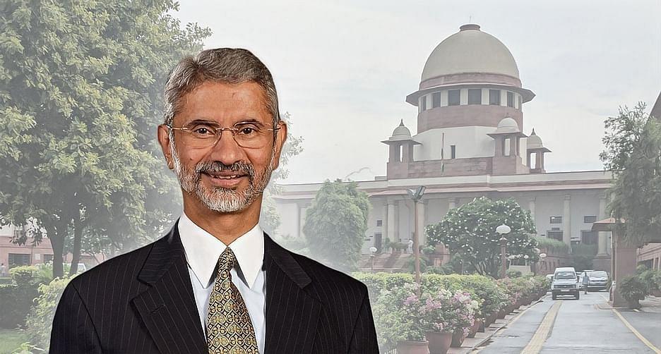 S Jaishankar, Supreme Court