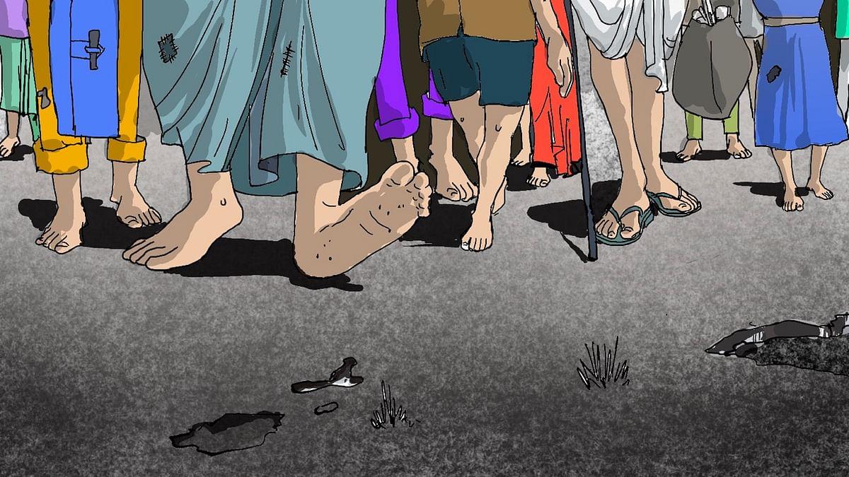 ಮಧ್ಯಪ್ರದೇಶ ವಲಸೆ ಕಾರ್ಮಿಕರ ಕಣ್ಣೀರ ಕತೆ: ಕುಟುಂಬ ನಡೆಸಲು ಆಡಳಿತಾತ್ಮಕ ನೆರವು ಬೇಡಿದ ಶೇ. 67 ಮಂದಿ