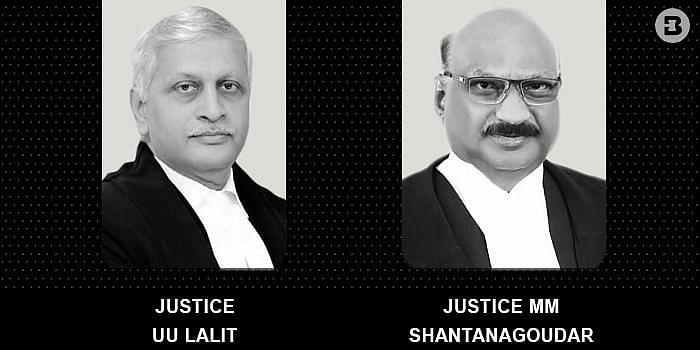 UU lalit and MM Shantanagoudar