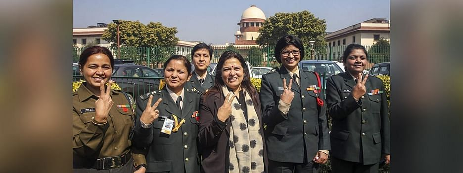 Women in army, Supreme Court