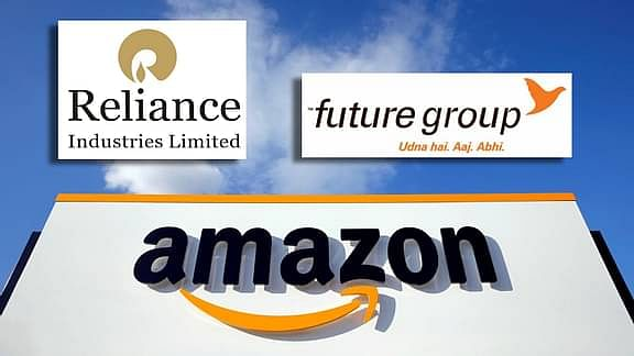 Amazon, Future Group, and Reliance