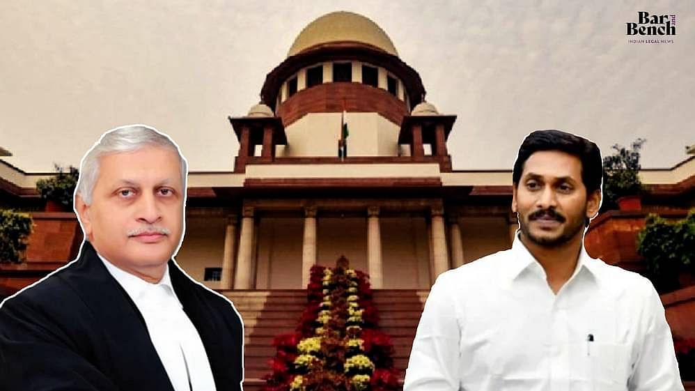 Justice UU Lalit and Jaganmohan Reddy
