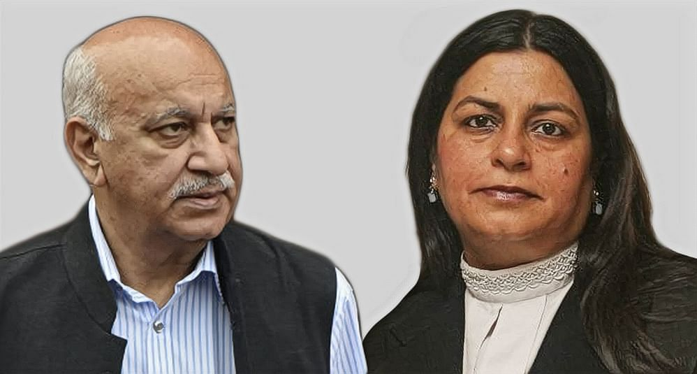 MJ Akbar, Geeta Luthra