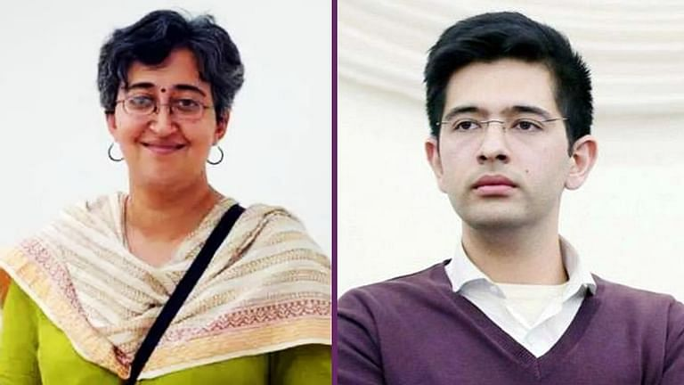 Atishi Marlena, Raghav Chadha