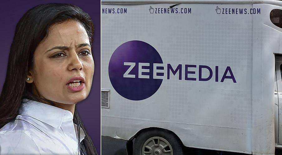 Mahua Moitra, Zee Media