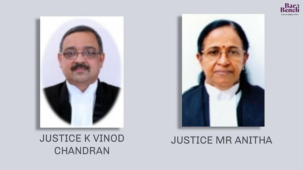 K Vinod Chandran, MR Anitha