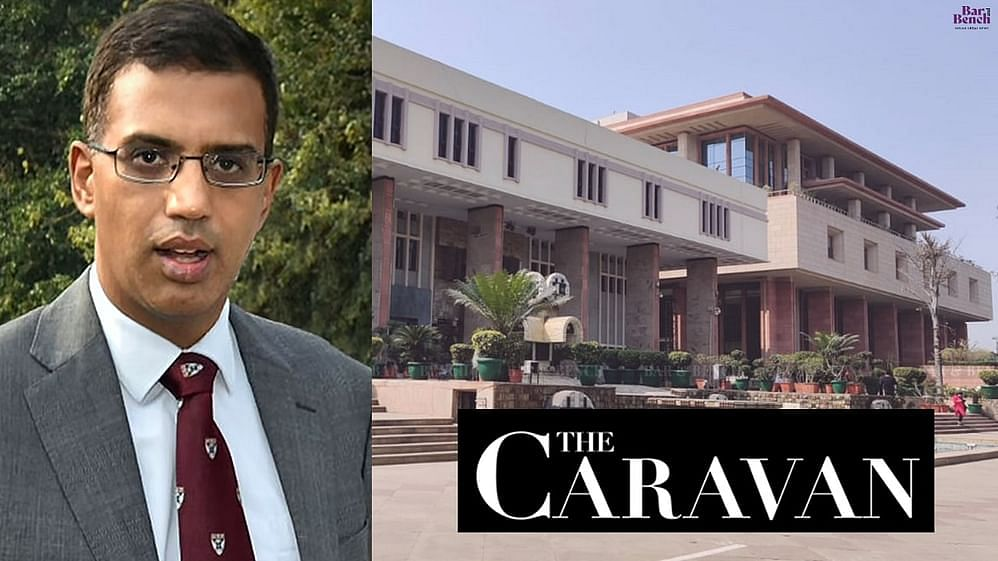 Vivek Doval, The Caravan, Delhi High Court