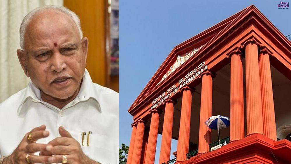 BS Yediyurappa and Karnataka High Court