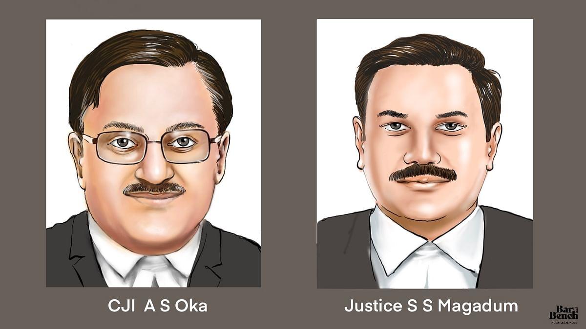 CJI  A S Oka & Justice S S Magadum