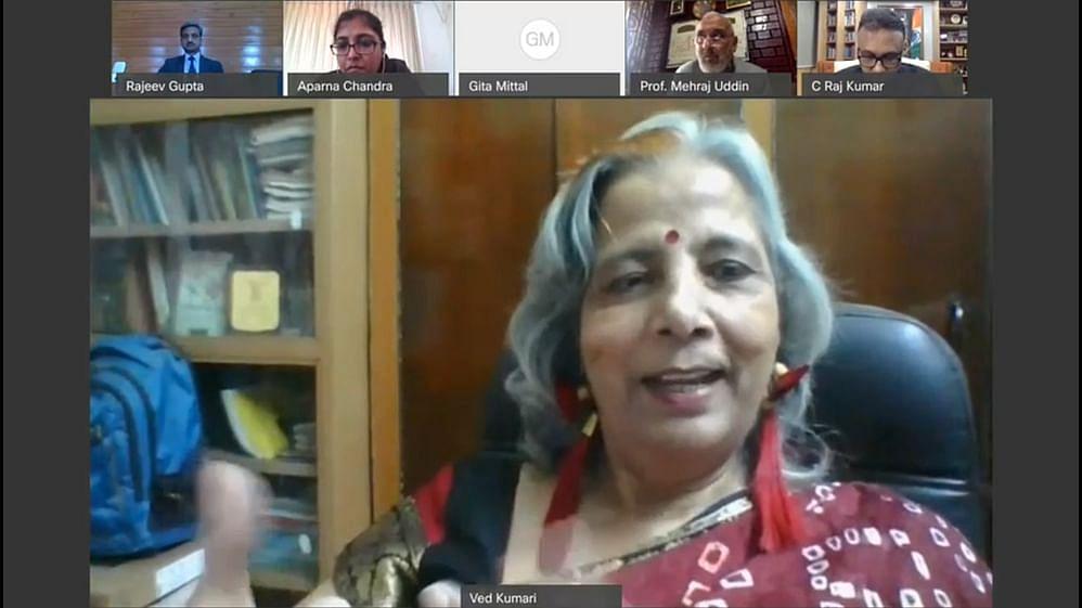 Prof Ved Kumari