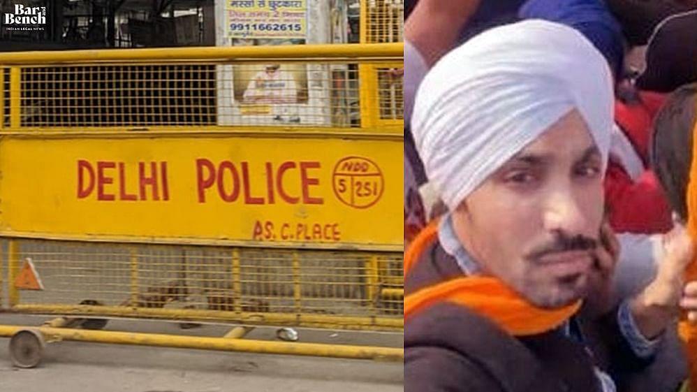 Deep Sidhu, Delhi Police