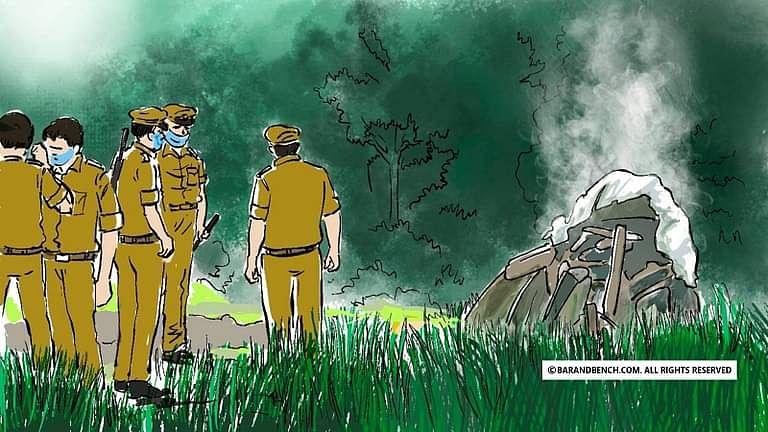 [ಹಾಥ್ರಸ್] ನ್ಯಾಯಾಲಯಕ್ಕೆ ನುಗ್ಗಿದ ಗುಂಪು, ವಕೀಲರಿಗೆ ಬೆದರಿಕೆ: ಗೋಪ್ಯ ವಿಚಾರಣೆಗೆ ಹೈಕೋರ್ಟ್ ಆದೇಶ