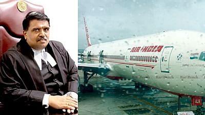 Justice C Hari Shankar, Air India