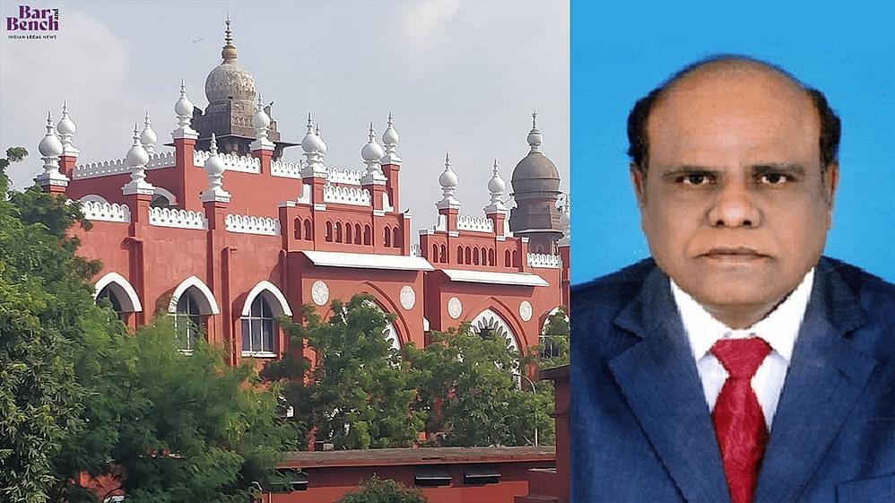 CS Karnan, Madras High Court