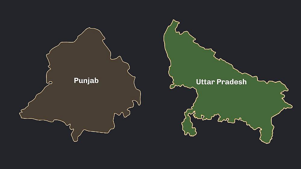 Punjab and UP