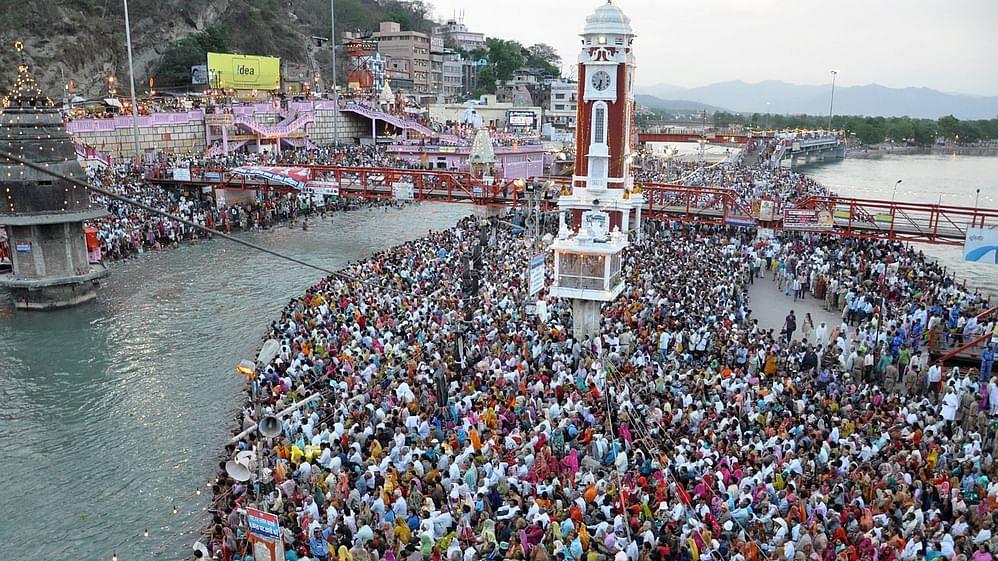 Maha Kumbh Mela at Haridwarha