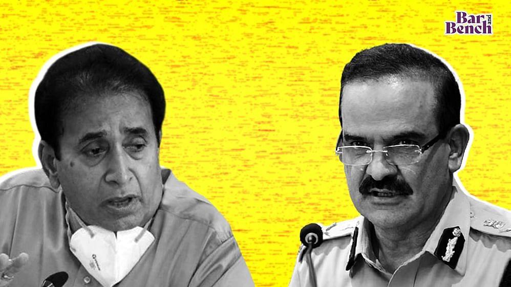 Param Bir Singh and Anil Deshmukh