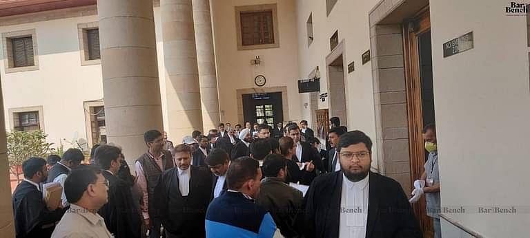 COVID-19 preparation in Supreme Court