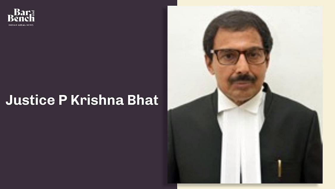 Justice Krishna P Bhat
