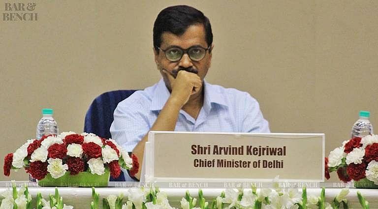 Delhi Chief Minister, Arvind Kejriwal